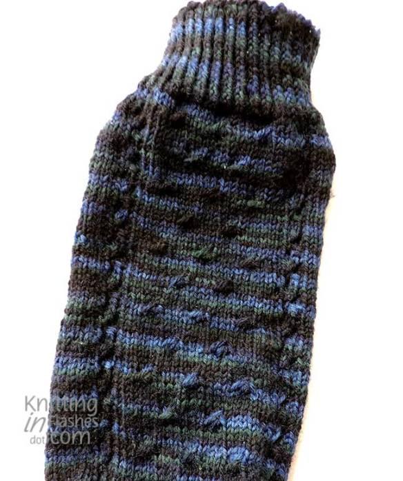 Luminary sock close-up